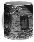 Photography Homage Margaret Bourke-white  Ghost Town Madrid New Mexico 1968 Coffee Mug