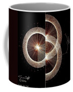 Photon Double Slit Test Hand Drawn Coffee Mug
