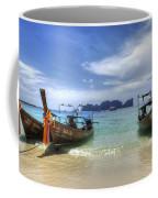 Phuket Koh Phi Phi Island Coffee Mug by Bob Christopher