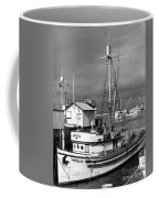 Phyllis Purse-seiner Monterey Wharf California  Circa 1940 Coffee Mug