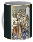 Physician & Plague Victim Coffee Mug