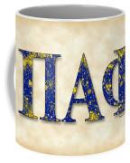 Pi Alpha Phi - Parchment Coffee Mug