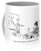 Pi What Squared?  Long John Coffee Mug by Pat Byrnes