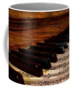 Piano And Music Coffee Mug
