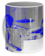 Piano Player In Pastel Blue Coffee Mug