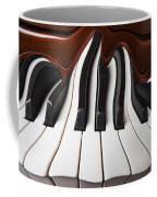 Piano Wave Coffee Mug