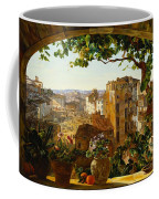 Piazza Barberini In Rome Coffee Mug