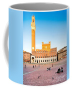Piazza Del Campo In Siena Coffee Mug