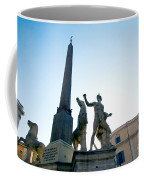 Piazza Del Quirinale Coffee Mug
