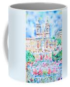 Piazza Di Spagna - Rome Coffee Mug