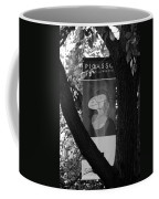 Picasso In Black And White Coffee Mug