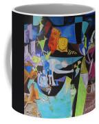 Picasso   Night Fishing At Antibes Coffee Mug