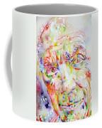 Picasso Pablo Watercolor Portrait.2 Coffee Mug
