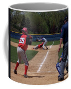 Pick Off Attempt At 1st Base Coffee Mug