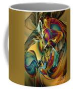 Picked Up By The Wind Coffee Mug by Klara Acel