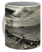 Picketts Charge The Angle Black And White Coffee Mug