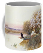 Picking Blossoms Coffee Mug