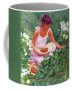 Picking Strawberries Coffee Mug