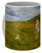 Picking Wildflowers Coffee Mug