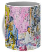 Picnic On The Beach Coffee Mug
