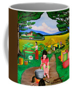 Picnic With The Farmers Coffee Mug