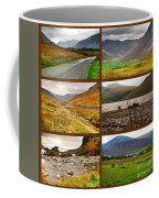 Autumn Picture Window Of The Lake District Coffee Mug