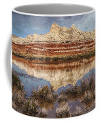 Picturesque Blue Canyon Formations Coffee Mug