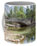 Picturesque Bridge In Yosemite Valley Coffee Mug