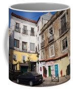 Picturesque Houses In Lisbon Coffee Mug