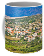 Picturesque Mediterranean Island Village Of Kolan Coffee Mug