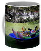 Piece Of Art Near The Musee Du Louvre In Paris France  Coffee Mug