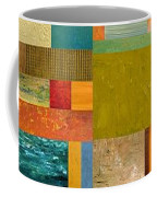 Pieces Project Lv Coffee Mug by Michelle Calkins