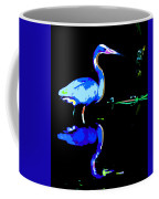 Pied Heron Coffee Mug