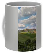 Pienza In The Afternoon Panorama Coffee Mug