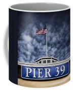 Pier 39 Coffee Mug by Dave Bowman