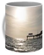 Pier 60  Near Sunset Coffee Mug