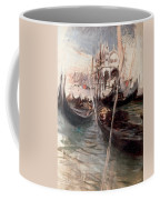 Pier And Saint Marc In Venice Coffee Mug