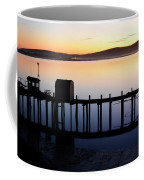 Pier At Bodega Bay California Coffee Mug