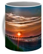 Pier At Dawn 167 Coffee Mug