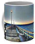 Pier - Chesapeake Bay Bridge #1 Coffee Mug