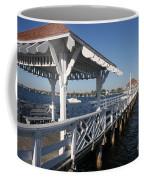 Clock Tower Pier Coffee Mug