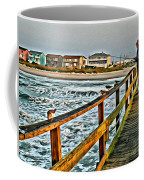Pier Fishing 2 Coffee Mug