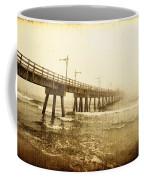 Pier In A Storm Coffee Mug
