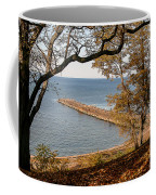 Pier In The Fall Coffee Mug