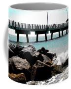 Pier Poster Coffee Mug