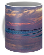 Pier Sunset Coffee Mug