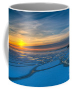 Pierhead Polar Vortex Sunrise Coffee Mug