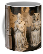 Pierre Jeannin And His Wife Sculpture Cathedral Autun Coffee Mug