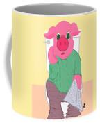 Pig On The Hopper Coffee Mug
