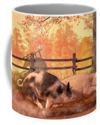 Pig Race Coffee Mug